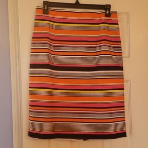 Multi color skirt
